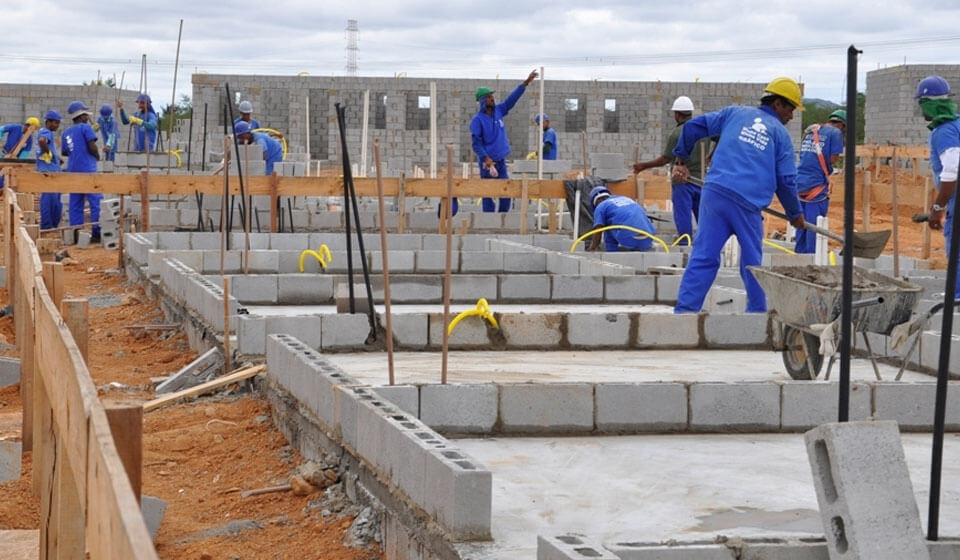 O crescimento da construção civil no Brasil. Quais as razões?